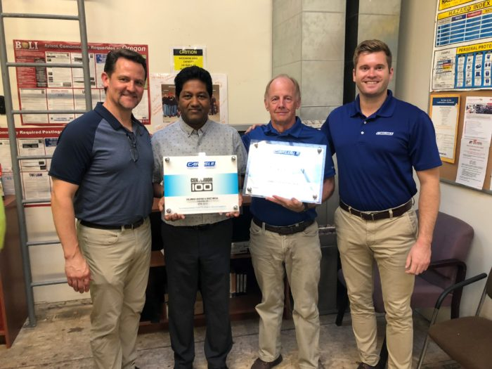 Roofing Contractor Given Prestigious Centurion Award