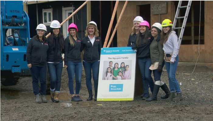 Women In Roofing Spotlighted In Habitat For Humanity Home